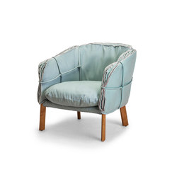 Parchment Easy Armchair | Poltrone | Kenneth Cobonpue