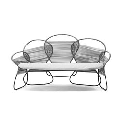 Trame Loveseat | Sofas | Kenneth Cobonpue