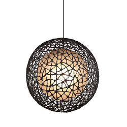 C-U C-Me Hanging Lamp round large | Iluminación general | Kenneth Cobonpue