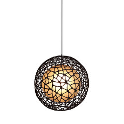 C-U C-Me Hanging Lamp round medium | Lampade sospensione | Kenneth Cobonpue
