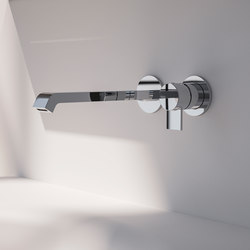 Tacca wall mounted basin mixer | Wash basin taps | Sign