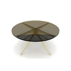DEAN Round Coffee Table - Brass | Tavolini salotto | Gabriel Scott