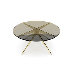 DEAN Round Coffee Table - Brass | Coffee tables | Gabriel Scott