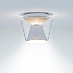 Annex LED Ceiling clear / aluminium | General lighting | serien.lighting