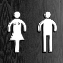 Signage | Toilet signs | Philip Watts Design