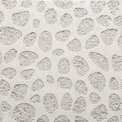 GCNature Pebbles25 nega white cement - white aggregate | Hormigón liso | Graphic Concrete