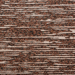 GCTexture Textilia nega red cement - red aggregate | Exposed concrete | Graphic Concrete