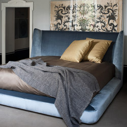 Midnight | Double beds | Flexform Mood