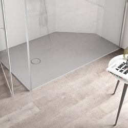 Platos de ducha duchas onda su misura idea group - Platos de ducha a ras de suelo ...