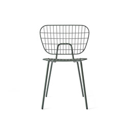 WM String Dining Chair, Dusty Green | Sillas para restaurantes | MENU
