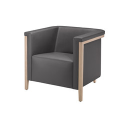 collar Armchair 9041/A | Lounge chairs | Brunner
