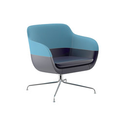 crona lounge Easy Chair 6381/A | Poltrone lounge | Brunner