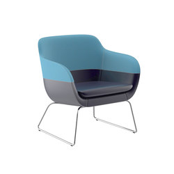 crona lounge Easy Chair 6385/A | Lounge chairs | Brunner