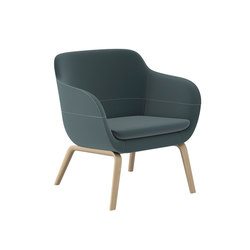 crona lounge Easy Chair 6387/A | Poltrone lounge | Brunner