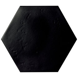 Le Crete Hexagon Terra Nera | Floor tiles | Valmori Ceramica Design