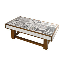 The Art Collection Table-Patch | Tavolini bassi | Valmori Ceramica Design