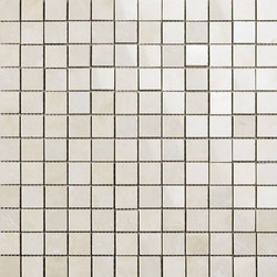 Cross Cut | White Mosaic | Mosaïques | Ceramica Magica