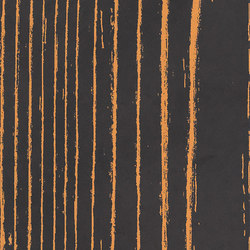 Uonuon black negative arancio 1 | Ceramic tiles | 14oraitaliana
