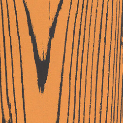Uonuon black positive arancio | Ceramic tiles | 14oraitaliana