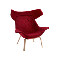 Oyster easy chair | Poltrone lounge | OFFECCT
