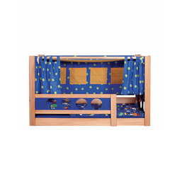 Pirate Canopy Bed DBA-202.4 | Kids beds | De Breuyn