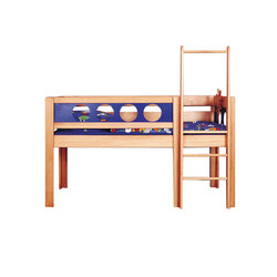 Pirate Semi-High Game Bed DBA-202.1 | Camas de niños / Literas | De Breuyn