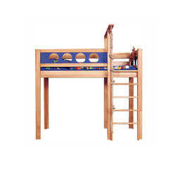 Pirate Game Loft Bed DBA-202 | Camas de niños / Literas | De Breuyn