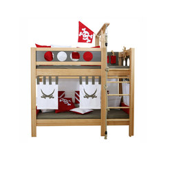Pirate Bunk Bed  DBA-202.9 | Infant's beds | De Breuyn