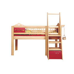 Villa Semi-High Game Bed DBA-201.1 | Letti per bambini | De Breuyn