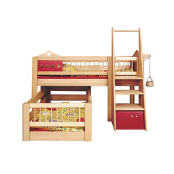 Villa small children's bunk bed DBA-201.2 | Camas de niños / Literas | De Breuyn