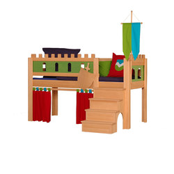 Castle medium-high game bed DBA-208.1 | Camas de niños / Literas | De Breuyn