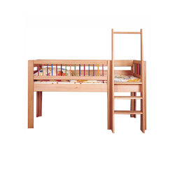 kubu halbhohes spielbett dba 208 1 kinderbetten von de. Black Bedroom Furniture Sets. Home Design Ideas