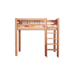 Kubu mid high game bed DBA-207 | Kids beds | De Breuyn