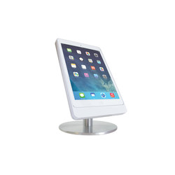 Eve Table Base Air Satinized | Table integrated displays | Basalte