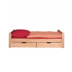 Max single bed with storage unit | Camas de niños / Literas | De Breuyn