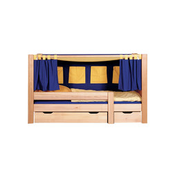 Trax toddler's poster bed | Kids beds | De Breuyn