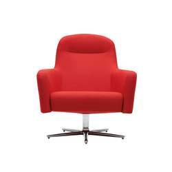Havana Swivel Low Chair | Poltrone lounge | Softline A/S