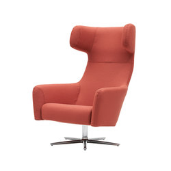 Havana Swivel Wing Chair | Poltrone lounge | Softline A/S