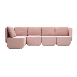 Opera Modular Sofa | Modular seating systems | Softline A/S