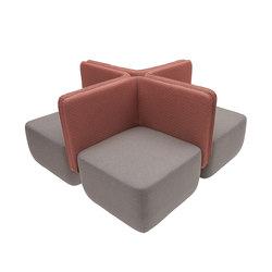 Opera Modular Sofa | Seating islands | Softline A/S