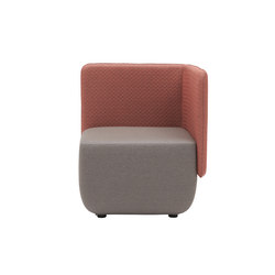 Opera Canapé Modulable Elément d ́angle | Modular seating elements | Softline A/S