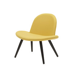 Orlando piétement bois | Lounge chairs | Softline A/S