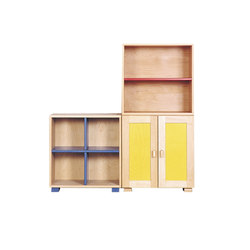 Cabinet Combination 03 | Kids storage furniture | De Breuyn
