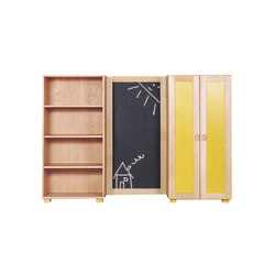 Cabinet Combination 04 | Kids storage furniture | De Breuyn