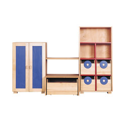 Cabinet Combination 06 | Kids storage furniture | De Breuyn