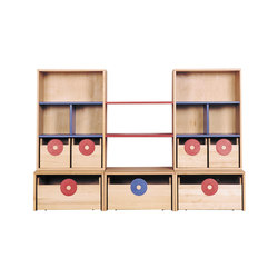 Cabinet Combination 10 | Kids storage furniture | De Breuyn