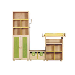 Cabinet Combination 12 | Kids storage furniture | De Breuyn
