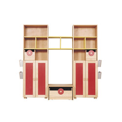 Cabinet Combination 13 | Kids storage furniture | De Breuyn
