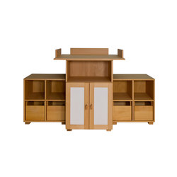 Cabinet Combination 19 | Kids storage furniture | De Breuyn