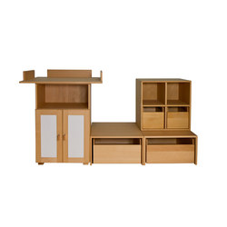 Cabinet Combination 20 | Kids storage furniture | De Breuyn